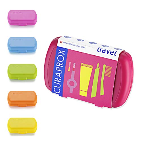 Be You Travel Set, Zahnbürste Ultra Soft CS 5460, Be you Zahnpasta, Interdentalbürsten Größe 0,7mm und 0,9mm mit Halter   kompaktes Reisezahnbürsten Set   farblich sortiert, Farbe nicht wählbar