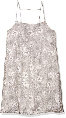 Lucca Couture Women's A Line Printed Shift Dress, White/Black Floral, Large