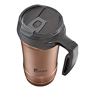bubba Hero Dual-Wall Vacuum-Insulated Stainless Steel Travel Mug, 18 oz., Rose Gold