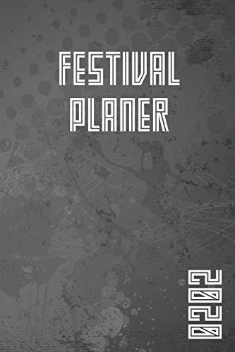 Festival Planer 2020: Stahl Grau Edition I Eventplaner und Tagebuch für Deine Festivalsaison I Für bis zu 5 Events I Perfekt organisiert & mehr Zeit für die Party I Robustes Softcover
