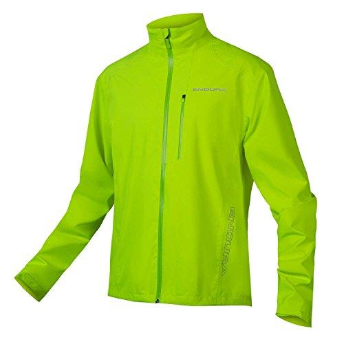 Endura Hummvee Waterproof Mens MTB Jacket Large Hiviz Yellow