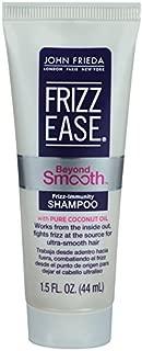 John Frieda Frizz Ease Beyond Smooth Frizz Immunity Shampoo, 1.5 Fluid Ounce (Pack of 24)