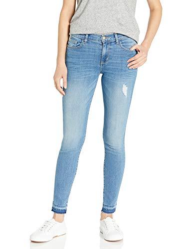 SIWY Women's Lauren Mid Rise Skinny Jeans in 10 Years Gone, 25