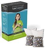 biococoon ACQUA VIVA . sacchetto filtro per acqua alcalina pH e antiossidante ionizzata, elimina cloro . per borracce , caraffe , filtranti ecc. durata totale 3 mesi