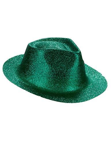 DEGUISE TOI - Chapeau pailleté Vert Adulte - Taille Unique