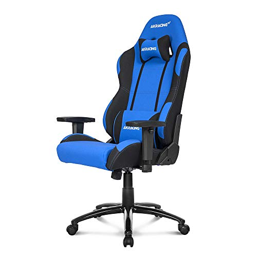 AKRacing AK BL/BK Core Series EX Gaming Chair, Blue/Black blue chair gaming