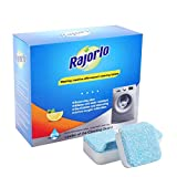 Rajorlo 20 PCS Brausetabletten Reiniger Entkalker Waschmaschine Tank Reinigung Tabletten Tiefenwirksame Reinigung Entferner