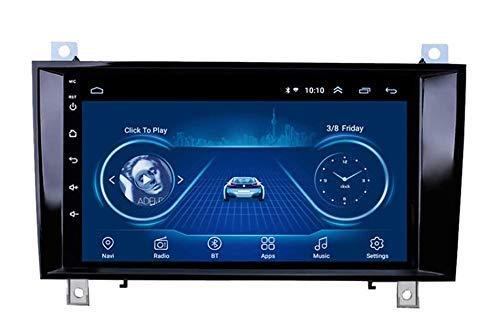 FDGBCF Android Android 9 Car Radio Car Sat Nav para Mercedes Benz SLK R171 W171 Estéreo para automóvil Pantalla táctil de 9 Pulgadas Navegador GPS