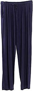SOUGAO Men's Pyjama Bottoms Nightwear Ultra Soft Trousers Modal Lounge Pants
