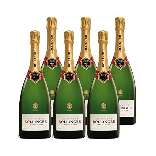 Champagne Special Cuvée - Bollinger - Rebsorte Pinot Noir, Chardonnay, Pinot Meunier - 6x75cl - Médaille d'Argent Decanter