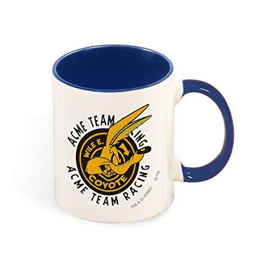 11oz Coffee Mug Wile E. Coyote Acme Team Racing Funny Tea Coffee Cup Two Tones Mugs Birthday Present