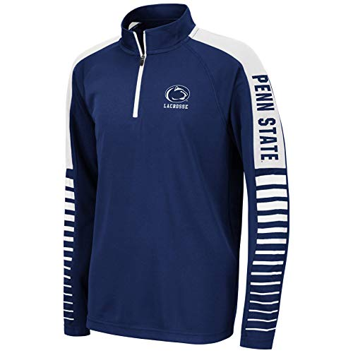 Lacrosse Unlimited Penn State Collegiate Lacrosse 1/4 Zip - Youth (Youth Large) Navy