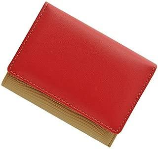 極小財布 コラボ別注 「バイカラー」牛革 BECKER 日本製 ミニ財布/三つ折り