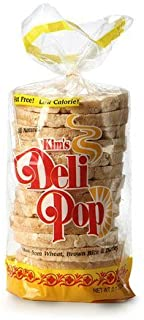 Kim's Deli Pop Rice Cakes | 3 Pack | Keto, Paleo, Multigrain, Natural Vegan | Sugar Free Korean Snack | Low Calorie, Low Fat, Whole Brown Rice | Original Flavor
