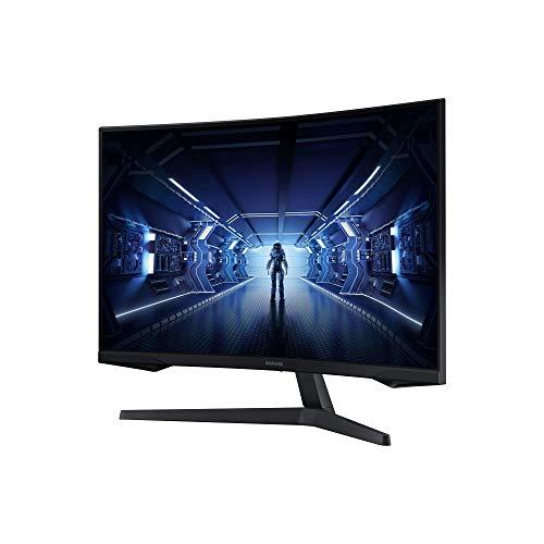 Samsung Odyssey C32G53T 32 Zoll 1000R Curved Gaming Monitor mit 2560x1440p Auflösung, 144hz Bildwiederholrate, 1ms Reaktionszeit - 4