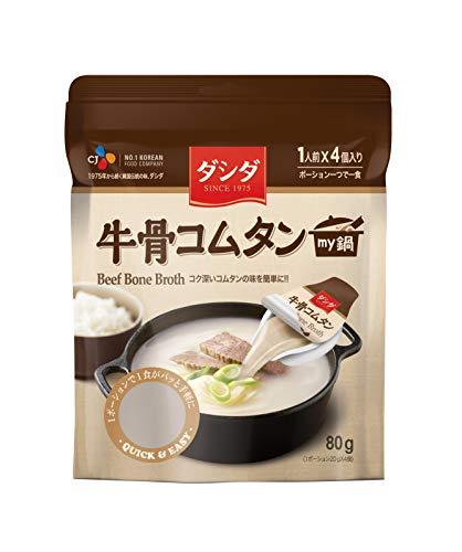 CJジャパン ダシダmy鍋牛骨コムタン 80g ×6個