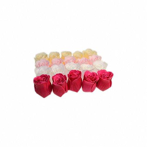 Roses bain mixte - 20 roses