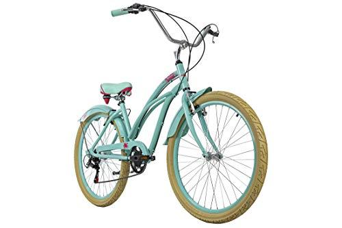KS Cycling Beachcruiser 26\'\' Splash Aluminiumrahmen grün RH 44 cm