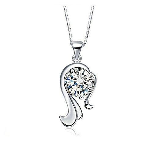chaine collier pendentif signe Astrologique Zodiaque VIERGE Neuf
