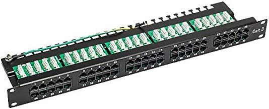 S-Link SL-TP50 50 Li UTP Portlu Telefon Paneli