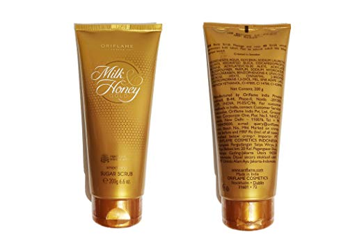 Oriflame Milk & Honey Gold Smoothing Sugar Scrub- Expedited International Delivery by USPS/FedEx by Oriflame