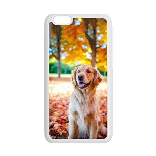 Impresión Golden Retriever 5 Compatible con Apple iPhone 7 Plus 8 Plus para Los Hombres Conchas De Plástico Rígido Duro Especificidad
