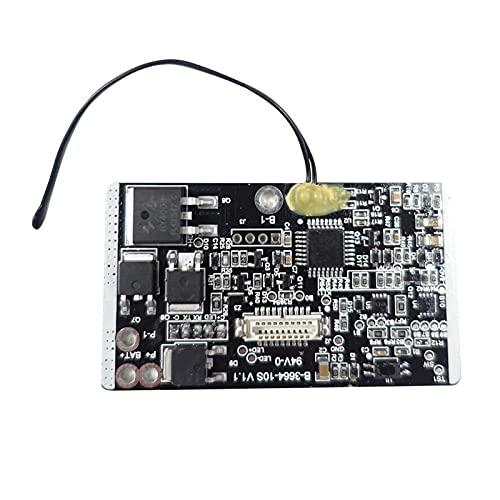CAIFEIYU Accesorios para monopatín de Scooter eléctrico BMS Controlador de batería Placa de protección Sistema de gestión de batería Reemplace la Placa de Circuito