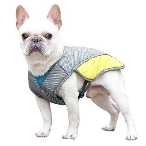 TFENG Pet Cooling Dog Weste Sommermantel Leichte Wiederverwendbare