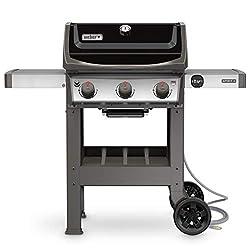 in budget affordable Weber 49010001 Spirit II E-310 3 Burner Gas Grill, Black