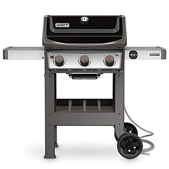 Weber 49010001 Spirit II E-310 3-Burner Natural Gas Grill Black