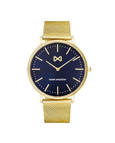 MARK MADDOX - Reloj Acero IP Dorado Brazalete Sr Mm - HM7122-37