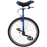 TTRY&ZHANG 28'Big Kids/Teens Wheel Unicycle - Blau, einstellbares Dreirad für Unisex Erwachsene/Männer/Frauen, Hochleistungs-Stahlrahmen, Last 150kg / 330 £ (Color : Blue, Size : 28IN Wheel)
