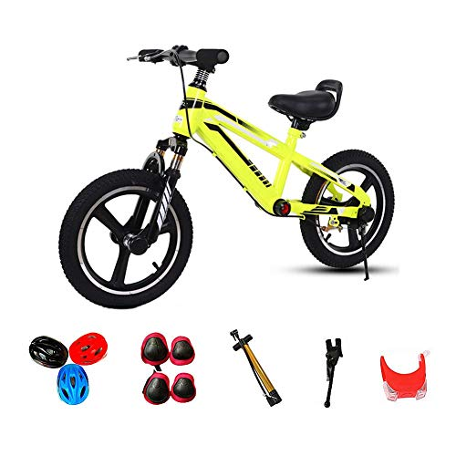 4-11Years Bicicletas Antiguo Equilibrio,Marco de Acero Al Carbono sin Pedal de Bicicleta...