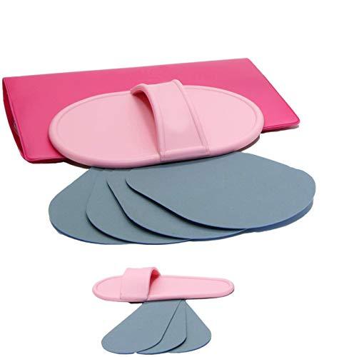 RESPEKT Moondepil Beauty Werkzeug zur Entfernung von kleinen Härchen mit integrierten Peeling Pads, Haarentfernung leicht gemacht inkl. Gesichtshaar-Epilierer für unerwünschte Gesichtshaare