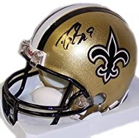 Drew Brees Saints Mini Helmet