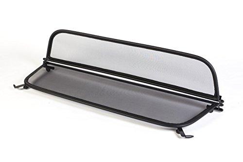 Wind Deflector for Opel Cascada (2013 Onwards) - Foldable - with Quick Release Fastener - Black | Windstop | Wind Blocker