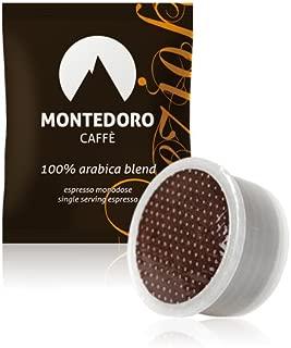 MonteDoro Prezioso - 100 Espresso Capsule Compatible with Lavazza Point Matinee - 100% Pure Arabica coffee