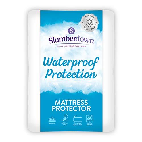Slumberdown Waterproof Mattress Protector Single Bed