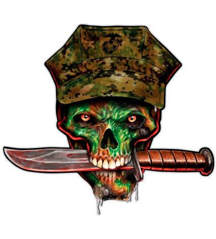 GT Graphics Marine Skull - 3