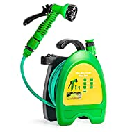 GREEN HAVEN HOSE REEL – The GREEN HAVEN hose pipe reel is perfect for gardens, patios, watering pots, balconies and roof terraces. The hose reel is ten metres (32 Feet) of reinforced hose; supplied on a lightweight compact carrying reel for easy tran...