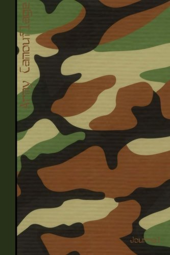 Army Camouflage Journal: Army / Military Gifts / Gift / Presents ( Large Notebook with Camouflage Design ) (Contemporary Designs)