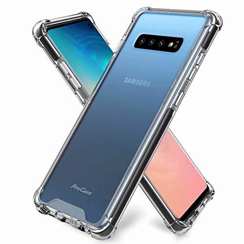 DYGG kompatibel mit hülle für Samsung Galaxy s10 Hülle Handyhülle Luftkissen Weich TPU Silikon Schale Durchsichtige Schutzhülle Handy Case*2*Nicht enthalten Displayschutzfolie