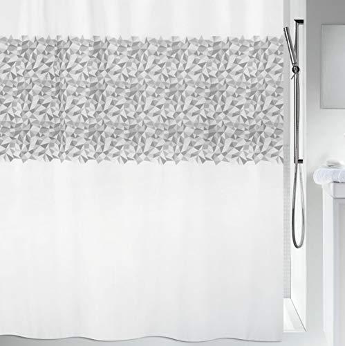 Platine 180x200 cm 100/% Polyester Kleine Wolke Rideaux de Douche Nova