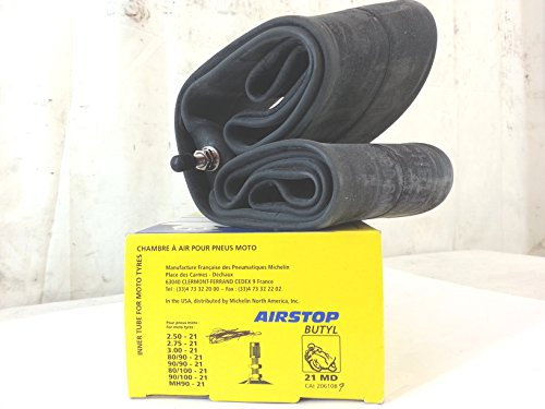 Chambre à air pour moto Michelin 21 x 2,50-2,75 – 3,00-80/90 - 90/90 - 80/100 - 90/100 – MH90