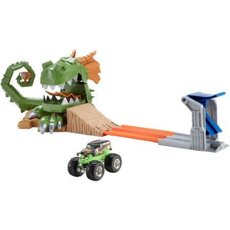 Hot Wheels Monster Jam Dragon Blast Challenge Play Set