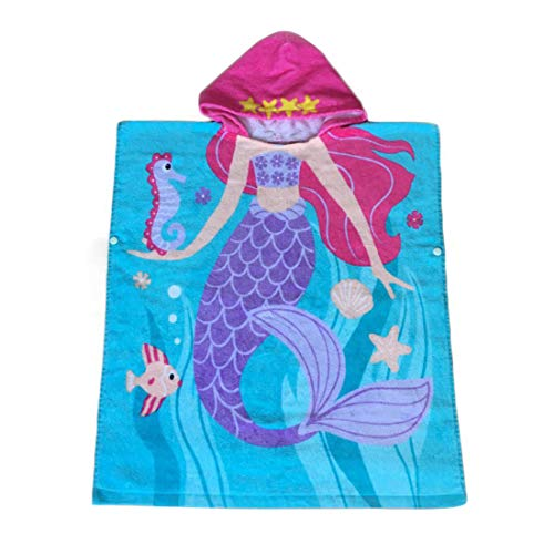 Repuhand Kinder Kapuzen Handtuch 100% Baumwolle Bade Badetuch für Jungen und Mädchen von 2-10 Jahren