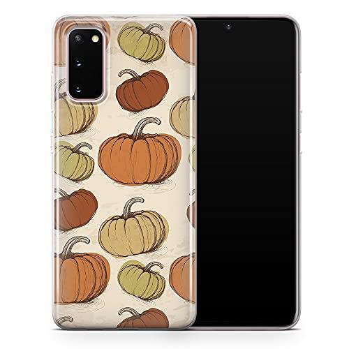 Funda para teléfono Samsung Galaxy S20 Ultra de Halloween Calabaza, Skull Ghost Zombie Sugar Skull Cover – Delgada a prueba de golpes y suave silicona TPU – Diseño 3 – A106