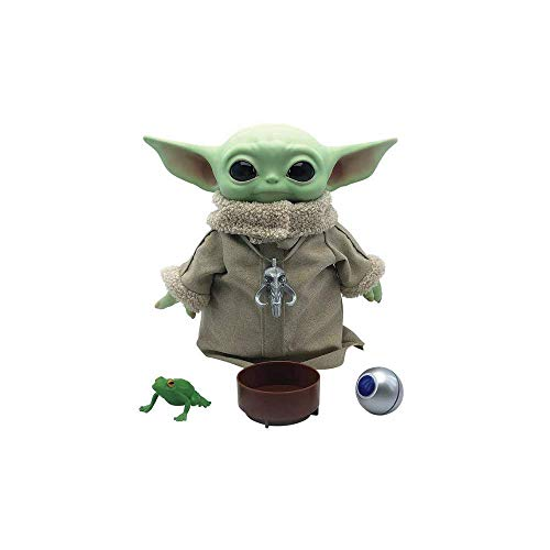 """Star Wars The Child Baby Yoda The Mandalorian with 4 Accessories 12"""" Tall"""