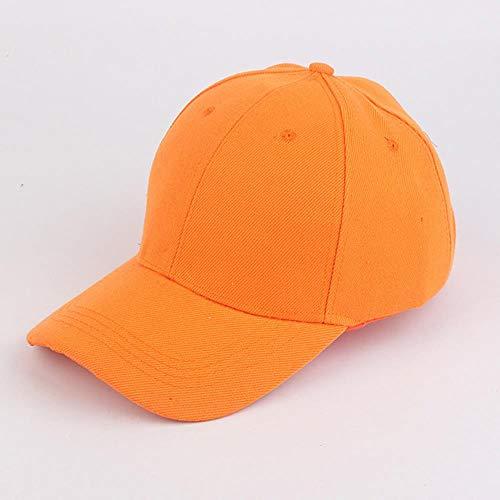 Hombres y Mujeres Coreanos Parejas Tablero Ligero Gorra de béisbol de Color sólido Sombrero colectivo Deportivo Gorra Bordada Personalizada Sombreros de Viaje