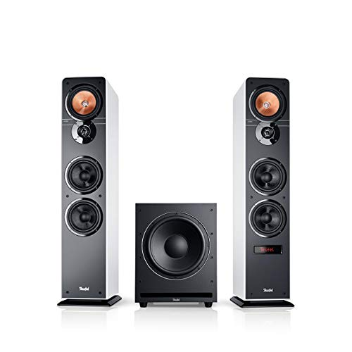 Teufel Ultima 40 Aktiv Club Edition Weiß Standlautsprecher Subwoofer Bluetooth Musikstreaming